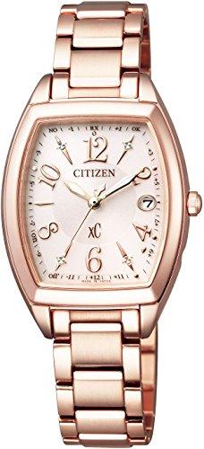 [シチズン]CITIZEN 腕時計 xC クロスシー エコ・ドライブ電波時計 ステンレススチールライン ハッピーフライト ES9392-51W レディース