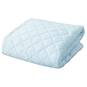 アイリスプラザ 敷きパッド シングル ブルー 7055092F