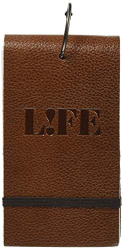 単語カード 本革表紙 5×3 ブラウン P400