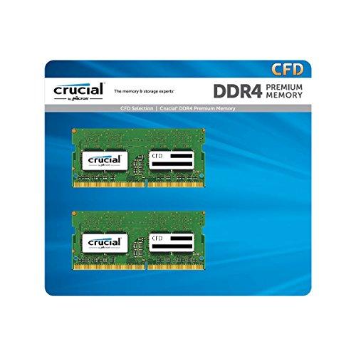 Crucial W4N2400CM-8G SODIMM DDR4 PC4-19200 8GB 2枚組 ノート用メモリ