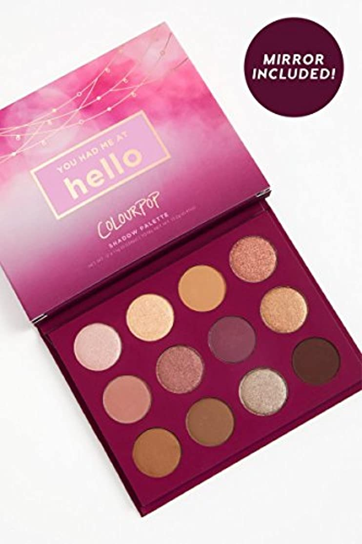 Colourpop YOU HAD ME AT HELLO - Pressed Powder Shadow Palette