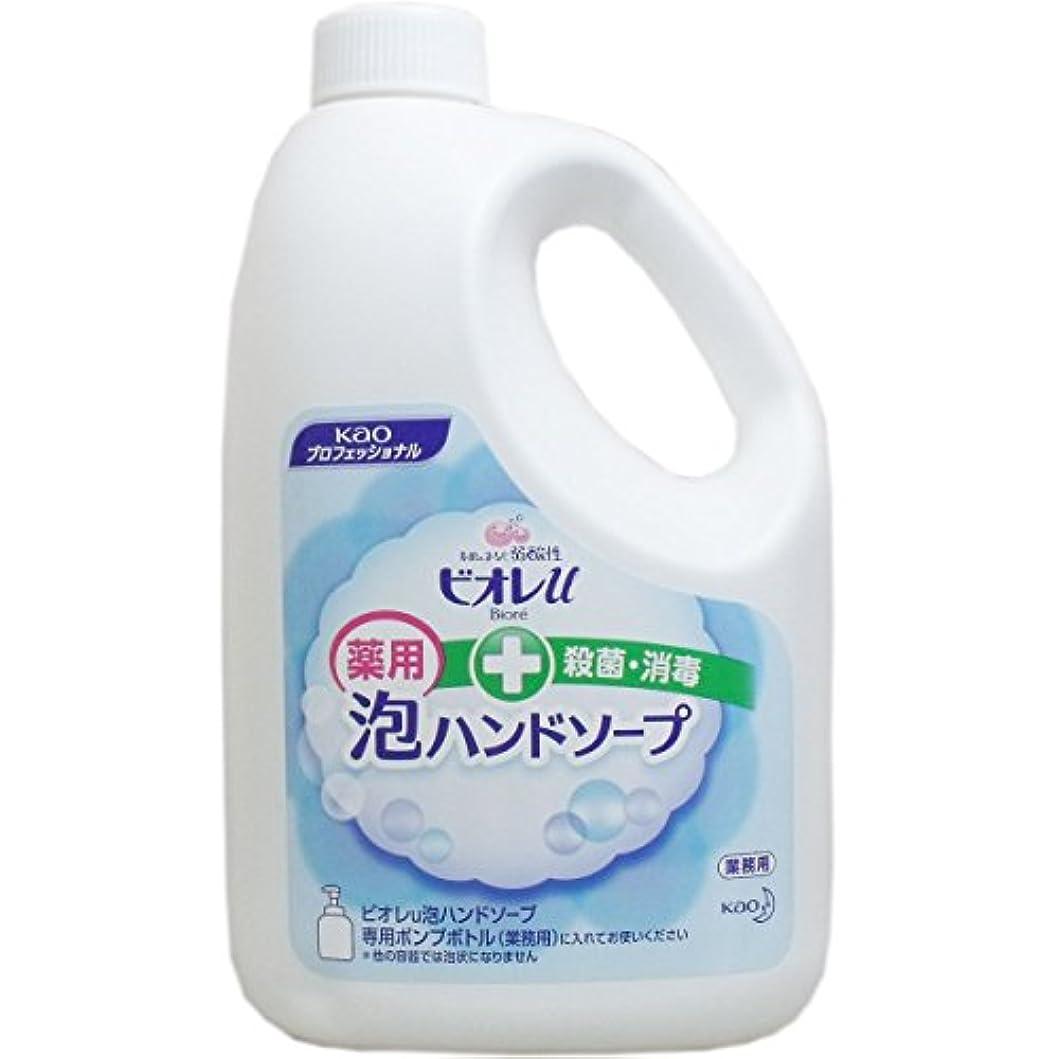 部屋を掃除するフレット敬花王 ビオレu 泡ハンドソープ 2L×3本
