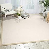 Nourison Sisalsoft (SSF02) Blanc Rectangle Area Rug 8-Feet by 10-Feet (8' x 10') [並行輸入品]
