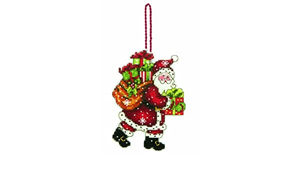 Dimensions Susan Winget Sleigh Ornament Counted Cross Stitch Kit-4-1//4 X3-1//4 14 Count Plastic Canvas