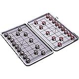 SM SunniMix 中国チェス 折りたたみ チェス盤 象棋 チェスゲーム 休日 娯楽 全2サイズ - 185×230mm