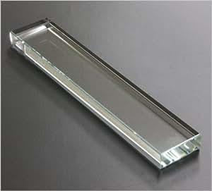 クリスタル 文鎮 角型 310g 4×1.5×21cm