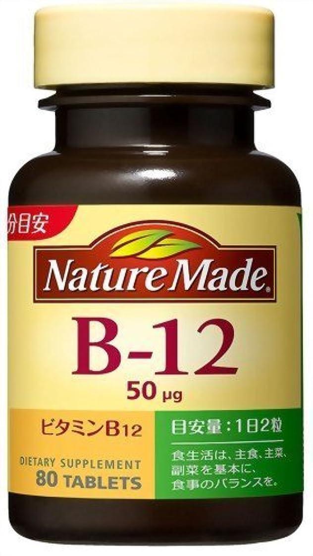 ステートメント民間大統領大塚製薬 ネイチャーメイドビタミンB12 80粒×2 907