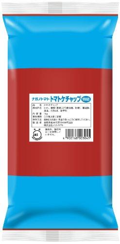 ナガノトマト トマトケチャップ特級 1kg 業務用パウチピロータイプ