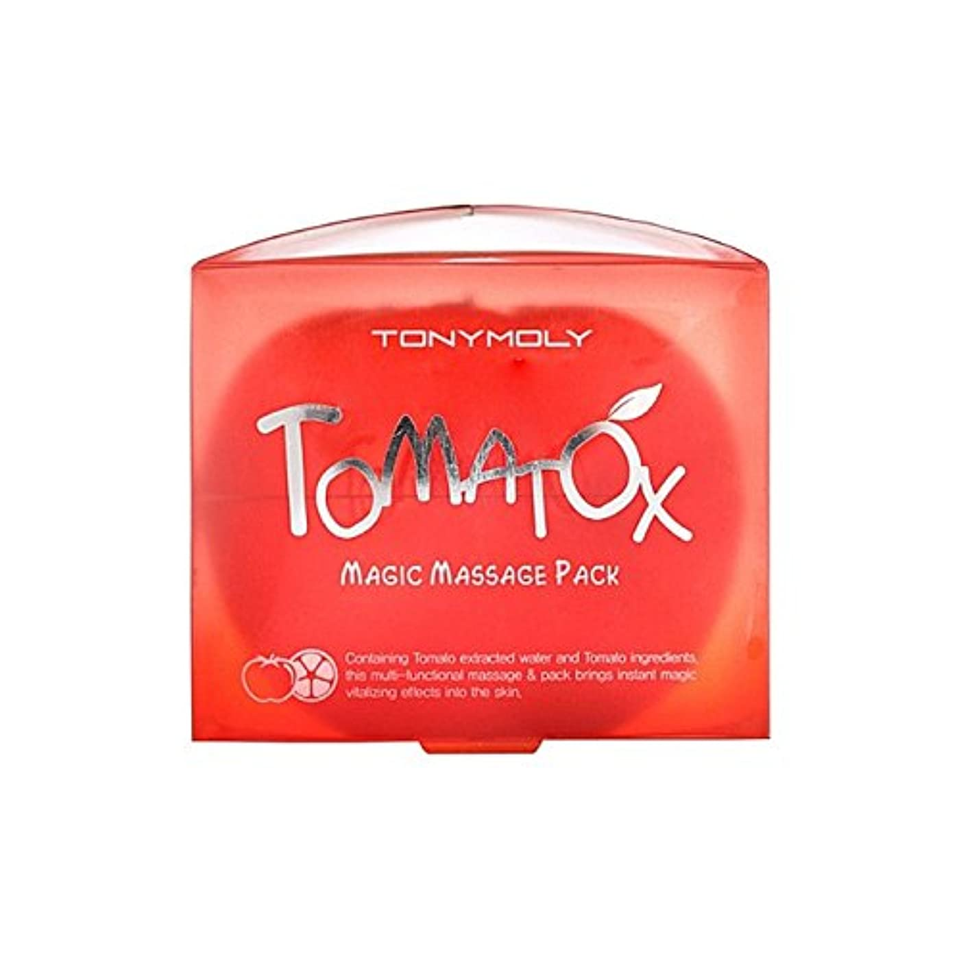 ぴかぴか信頼できる海峡ひもトニーモリー魔法マッサージパック80グラム x2 - Tony Moly Tomatox Magic Massage Pack 80G (Pack of 2) [並行輸入品]