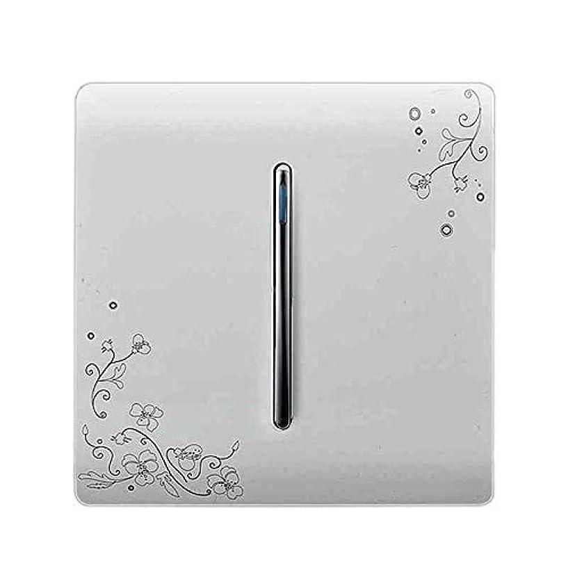 降雨悲劇的なくしゃみ壁スイッチ1ギャング2ウェイオン/オフスイッチアイボリーホワイトブリーフアートウィーブライトスイッチを介してスイッチ、光スイッチファッション峠 switches