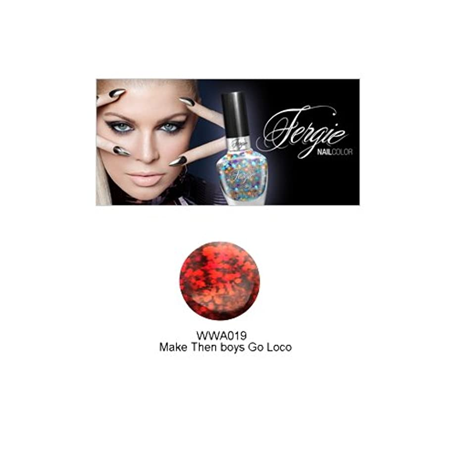 最後にまだ差別Wet N Wild FERGIE NAIL COLOR - Make Them Boys Go Loco (並行輸入品)
