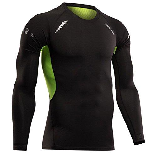 [해외]Prettyia 속건 체육관 스포츠 달리기 T 셔츠 피트니스 근육 스트레칭 티셔츠 남성 스키에도 적용 전 6 크기/Prettyia Quick-drying gym Sports running T-shirt fitness muscle stretch tee shirt Also applicable to men`s ski All 6 sizes