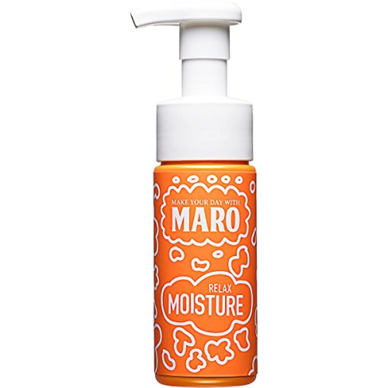 接続された征服者一杯MARO グルーヴィー 泡洗顔 リラックスモイスチャー 150ml