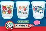 一番くじ 夏目友人帳~ニャンコ先生は食いしん坊~ G賞 ハイカラグラス 全3種セット