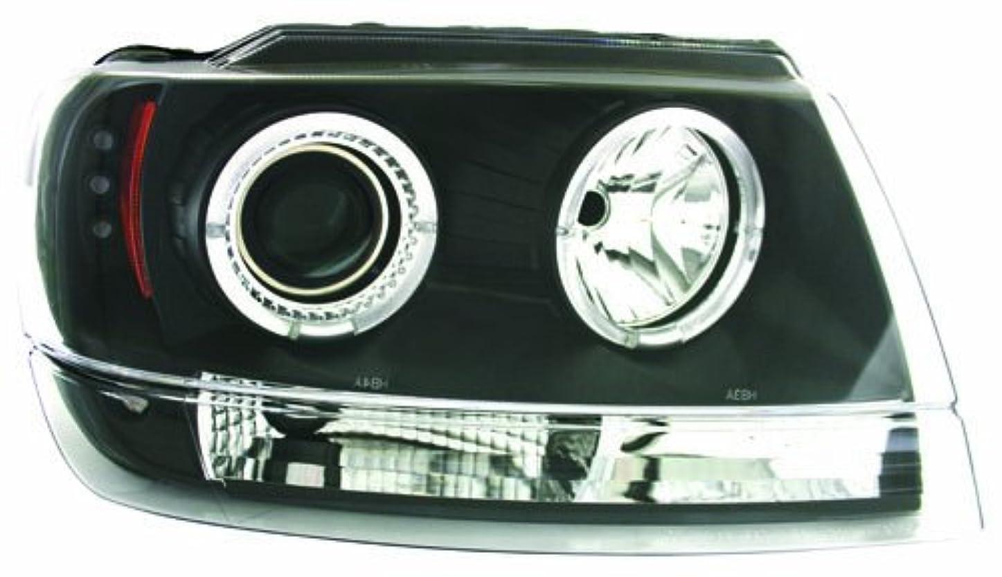強化彼追加するIPCW CWS-5002B2 Jeep Grand Cherokee 1999 - 2004 Head Lamps, Projector Black