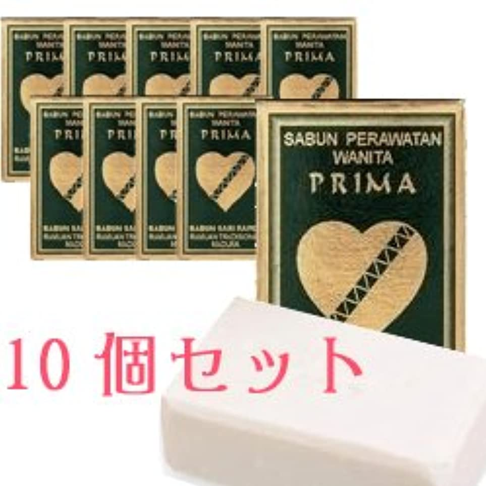 宝石泣き叫ぶ驚かすプリマ サリラペソープ 80g 10個セット 【並行輸入品】