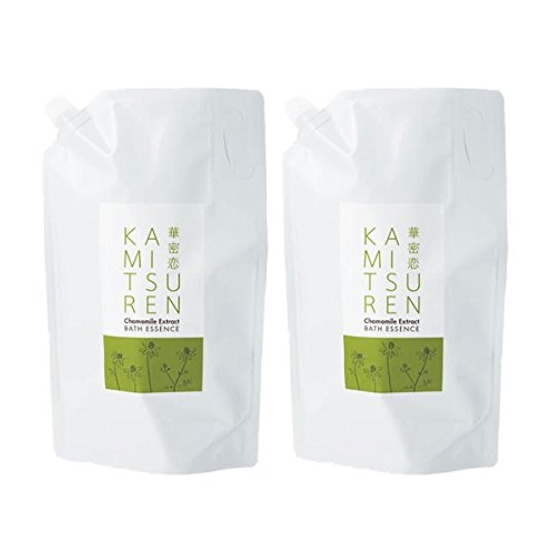 マスタードサワー中央値華密恋 薬用入浴剤 特大 詰替え用 (新パッケージ) 1500mL(1.5L)×2袋セット
