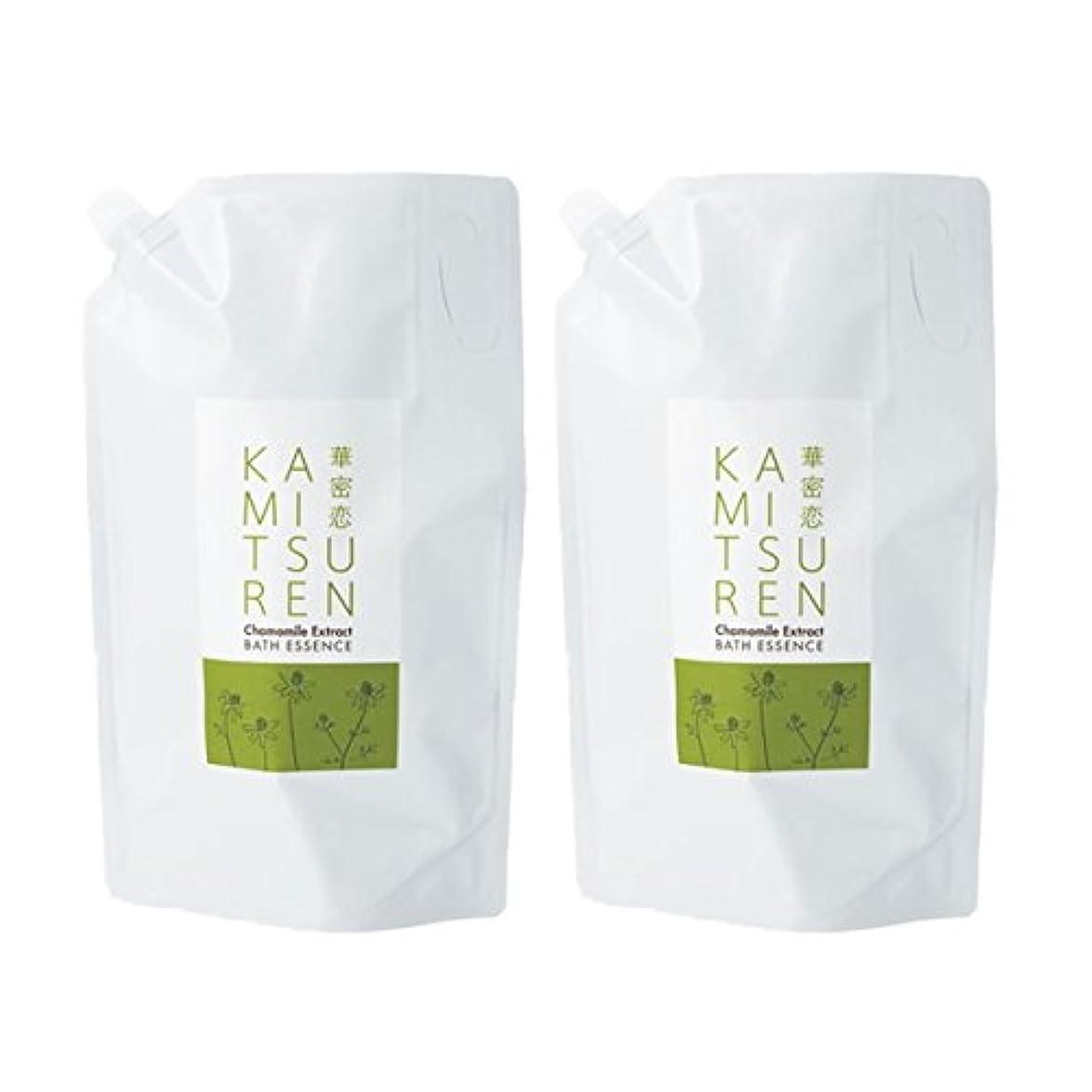 化合物チャネルファン華密恋 薬用入浴剤 特大 詰替え用 (新パッケージ) 1500mL(1.5L)×2袋セット