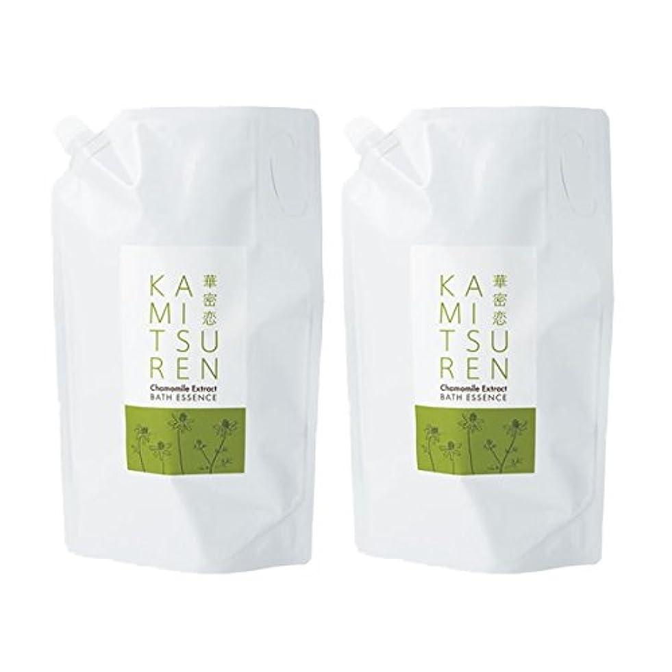 きょうだい前件持続する華密恋 薬用入浴剤 特大 詰替え用 (新パッケージ) 1500mL(1.5L)×2袋セット