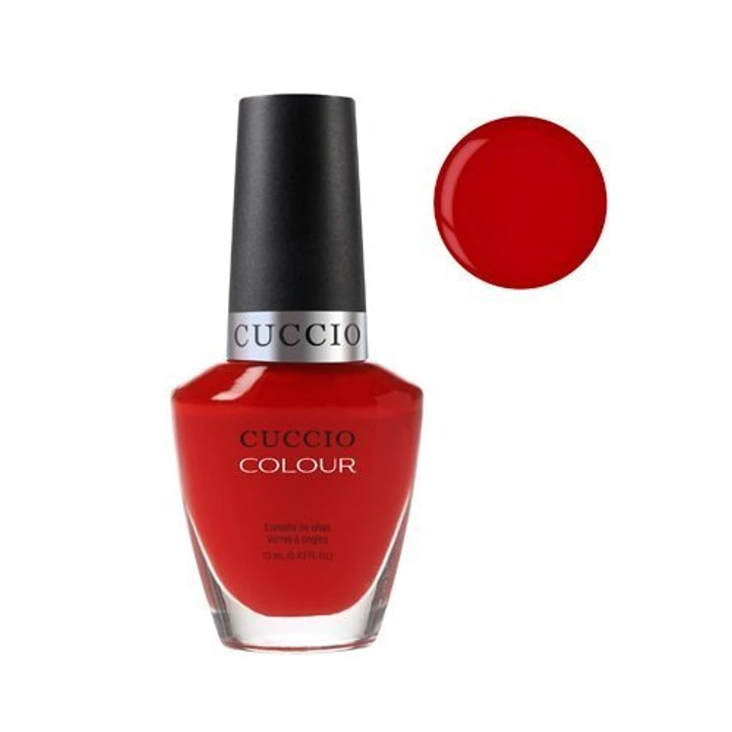 実験をする関係する好色なCuccio Colour Gloss Lacquer - A Kiss in Paris - 0.43oz / 13ml