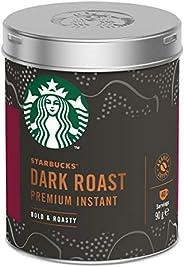 STARBUCKS Dark Roast Premium Instant Coffee Tin 90g
