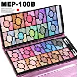 プロ仕様アイシャドウパレット、メイクパレット,アイズパレット100色 MEP-100B