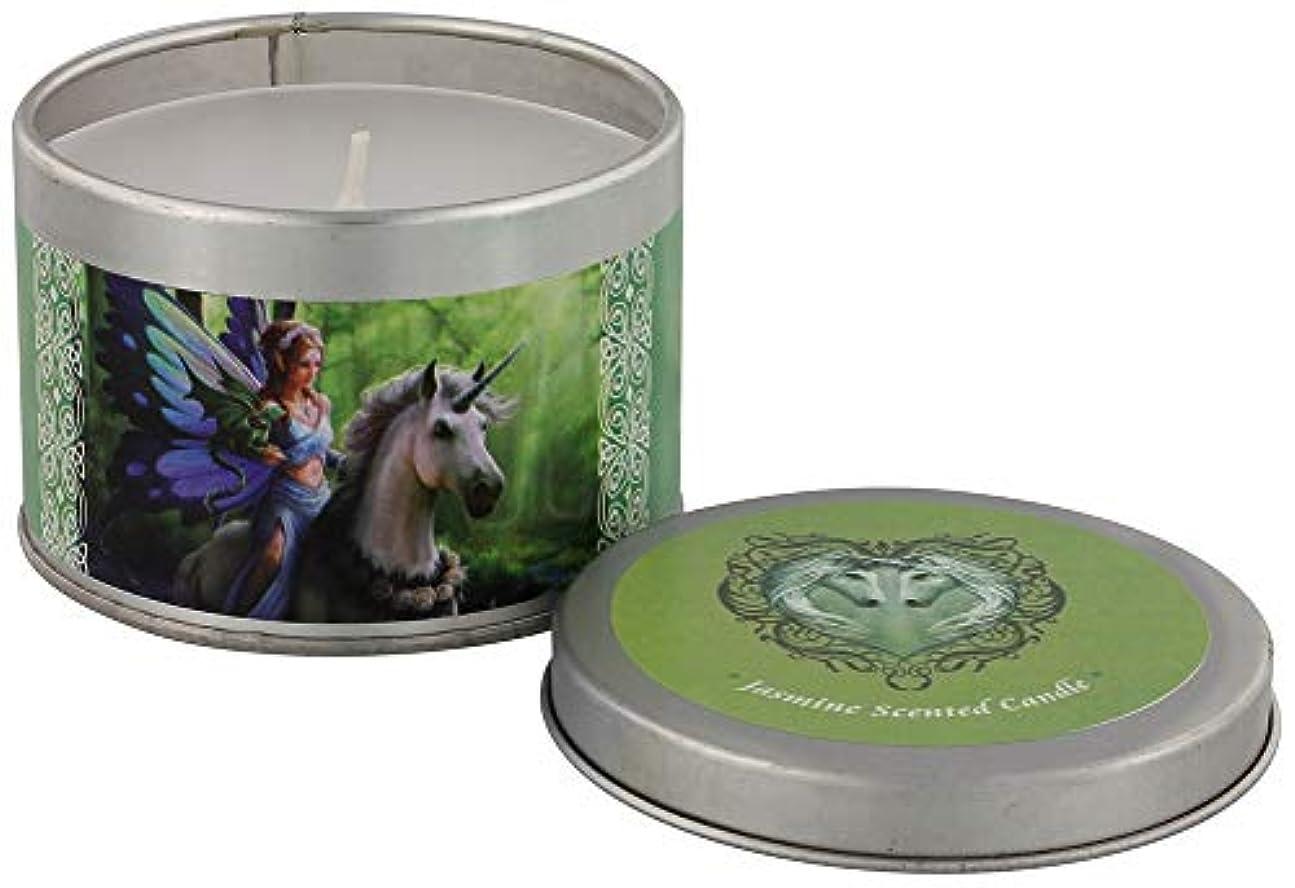 コーチ完全に乾く豚Realm Of Enchantment Candle By Anne Stokes