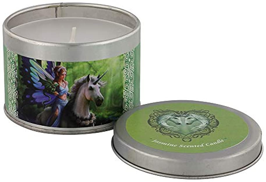 首相ベックス珍しいRealm Of Enchantment Candle By Anne Stokes
