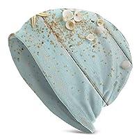 ヒトデの貝の小石の装飾 帽子 柔らかく快適 四季 ユニセックス