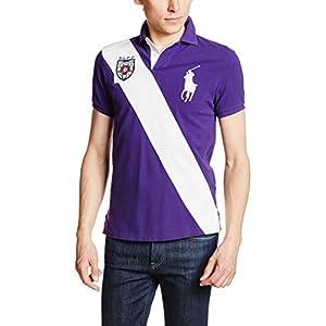 (ポロラルフローレン) POLO RALPH LAUREN(ポロラルフローレン) ポロシャツ 半袖 【並行輸入品】 MNBLKNIM1A10052 D62 PURPLE (D62) XS