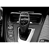 【LEOMA】BMW リアル カーボン ギア シフトノブ カバー 内装 小物 カスタム パーツ アクセサリー インテリア (365日保証)