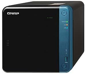 QNAP(キューナップ) TS-453Beクアッドコア1.5 GHz CPU 2GB/4GBメモリ 4ベイ DTCP-IP/DLNA対応 ランサムウェアからも復元可