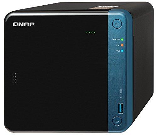 QNAP(キューナップ) TS-453Beクアッドコア1.5 GHz CPU 2GB/4GBメモリ 4ベイ DTCP-IP/DLNA対応 ランサムウェ...