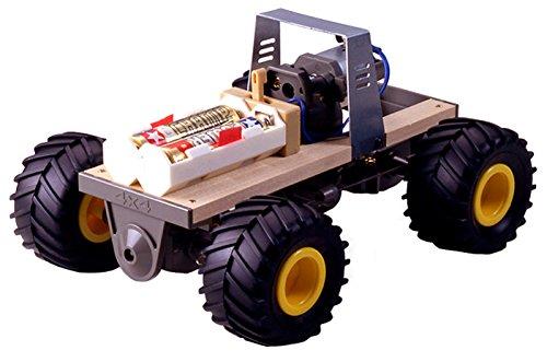 タミヤ 4輪駆動車工作基本