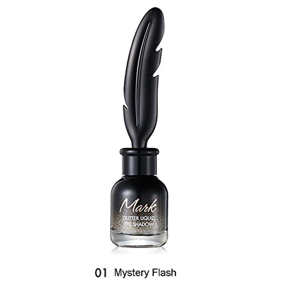 ブラインド信念そっとトニモリー TONYMOLY Mark Glitter Liquid Eye Shadow #01 Mystery Flash