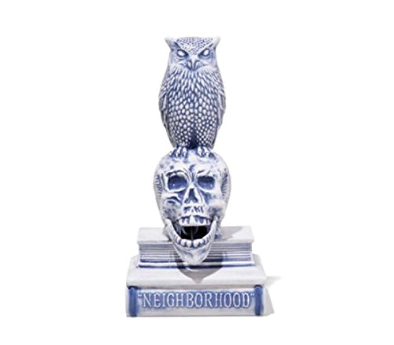 シェフ口述するもう一度18SS NEIGHBORHOOD OWL-B / CE-INCENSE CHAMBER お香立て