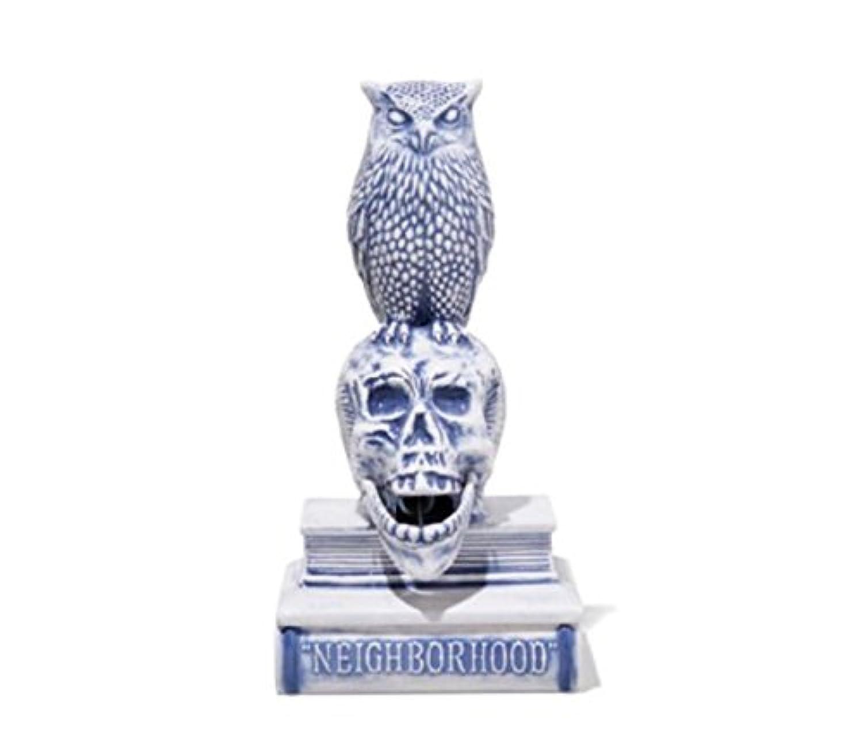 詳細な意気消沈した破壊的18SS NEIGHBORHOOD OWL-B / CE-INCENSE CHAMBER お香立て