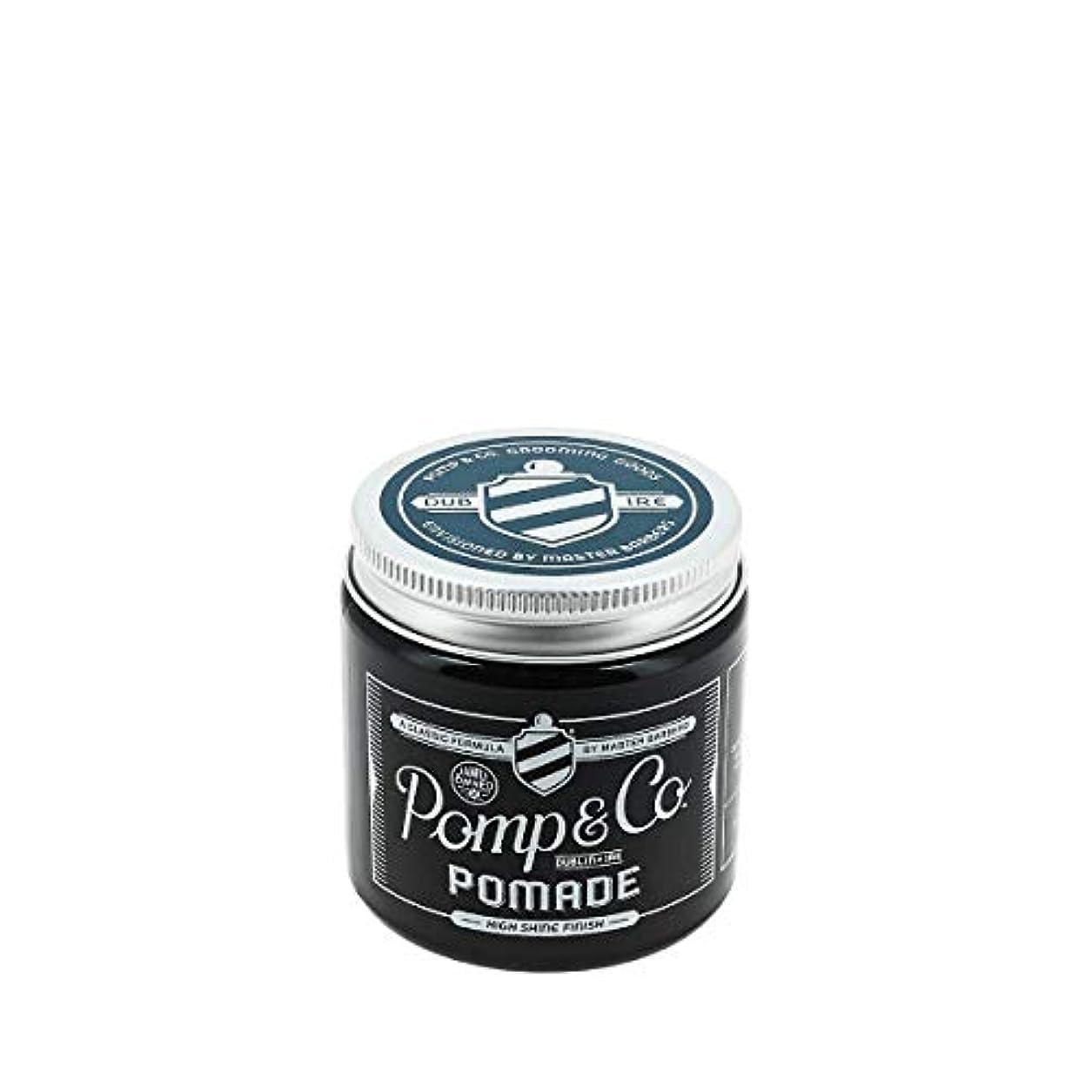 紳士気取りの、きざな一般体現するPomp & Co ポマード 120ml[海外直送品] [並行輸入品]