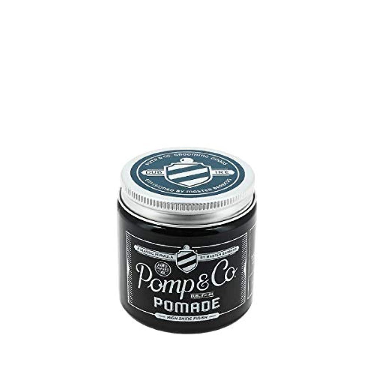 ピューオーブン失望Pomp & Co ポマード 120ml[海外直送品] [並行輸入品]