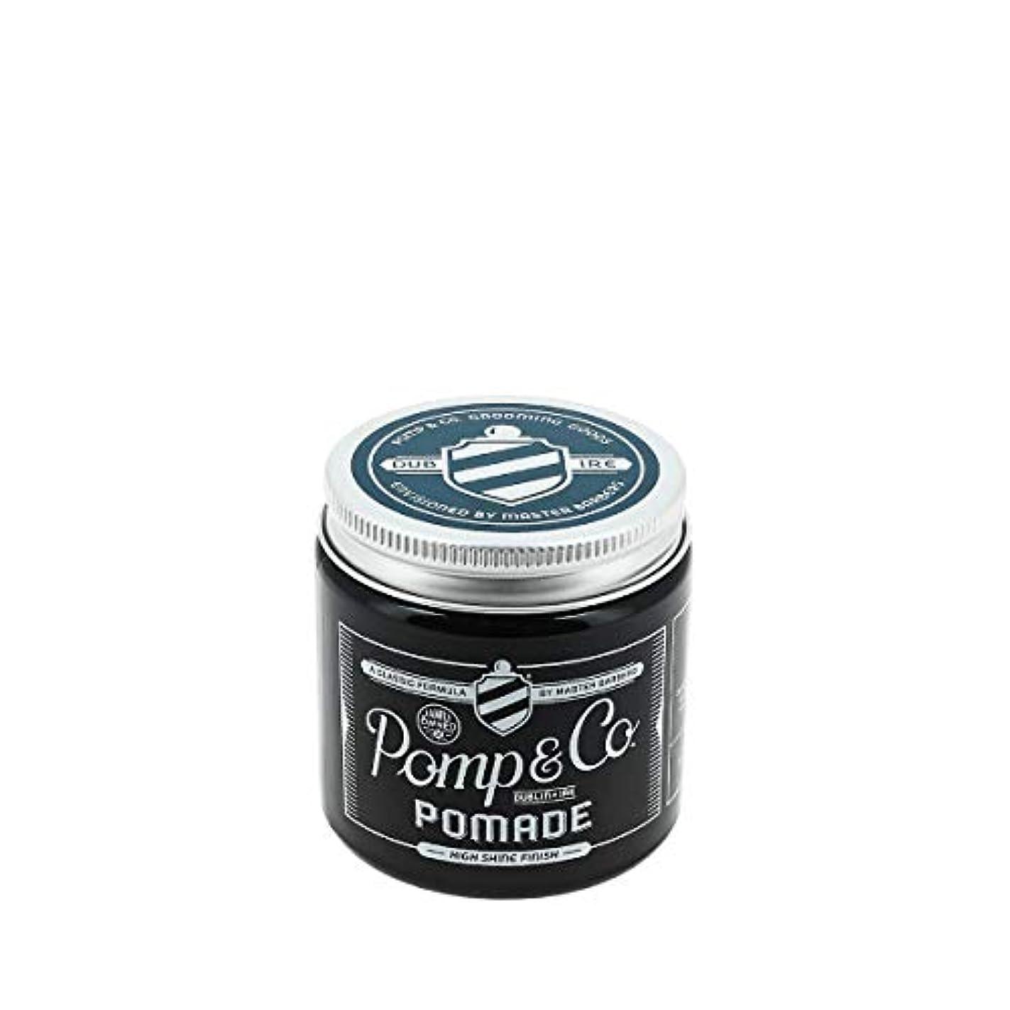 溶接ジョグ繁栄するPomp & Co ポマード 120ml[海外直送品] [並行輸入品]