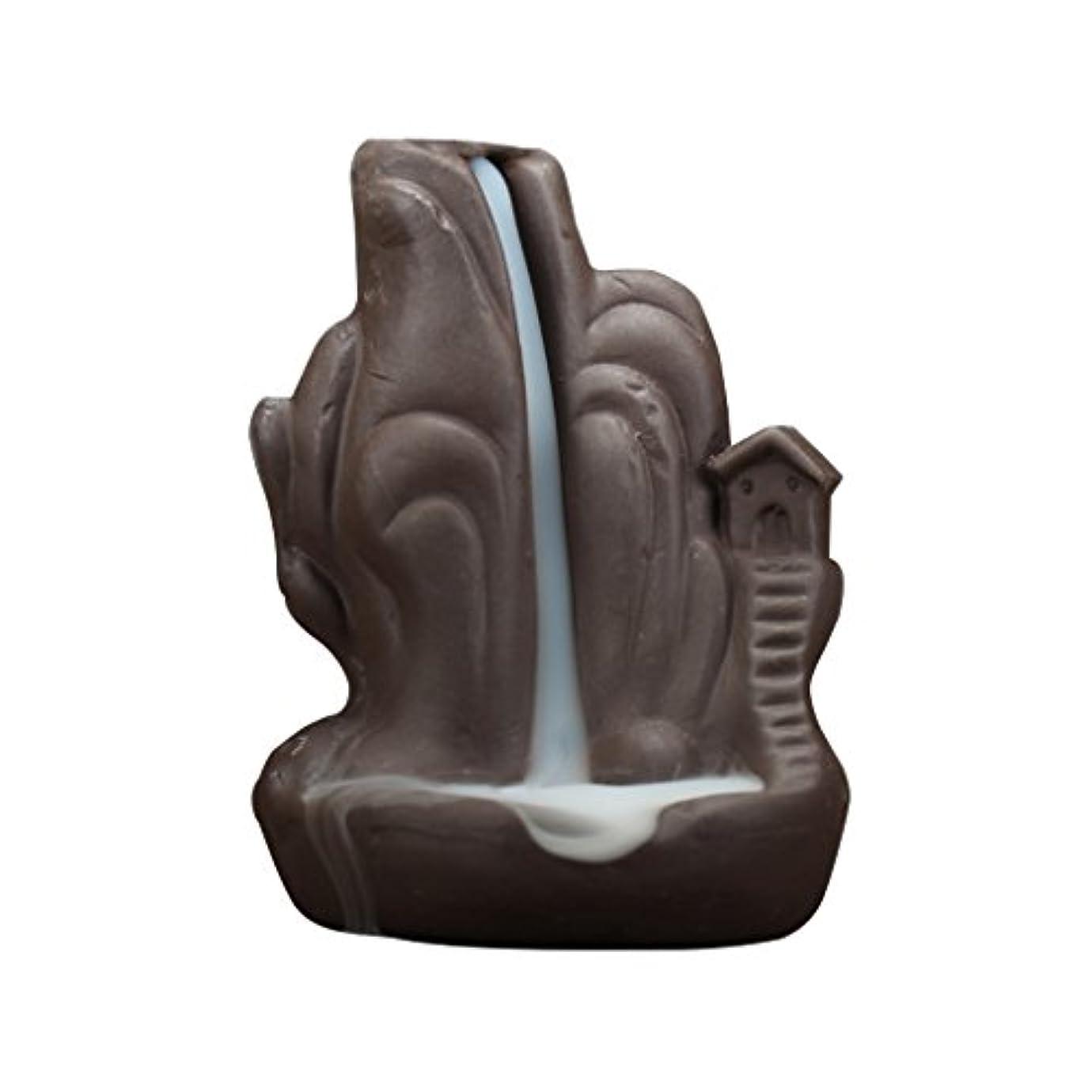 セールスマン石炭キャロラインFenteer 全4種 繊細 絶妙 デザイン 磁器 逆流香 香炉 仏壇 古典的 装飾   - 2#