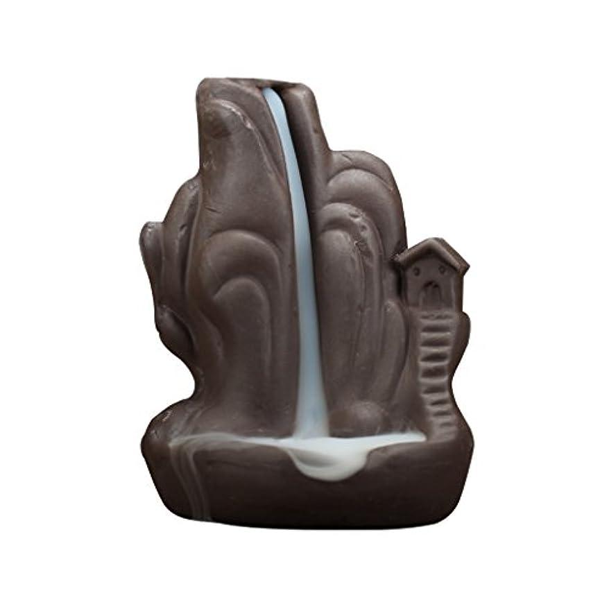 稼ぐ稼ぐ冷凍庫Fenteer 全4種 繊細 絶妙 デザイン 磁器 逆流香 香炉 仏壇 古典的 装飾   - 2#