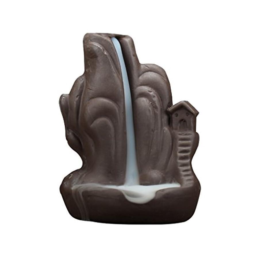 スラッシュ迷路Fenteer 全4種 繊細 絶妙 デザイン 磁器 逆流香 香炉 仏壇 古典的 装飾   - 2#