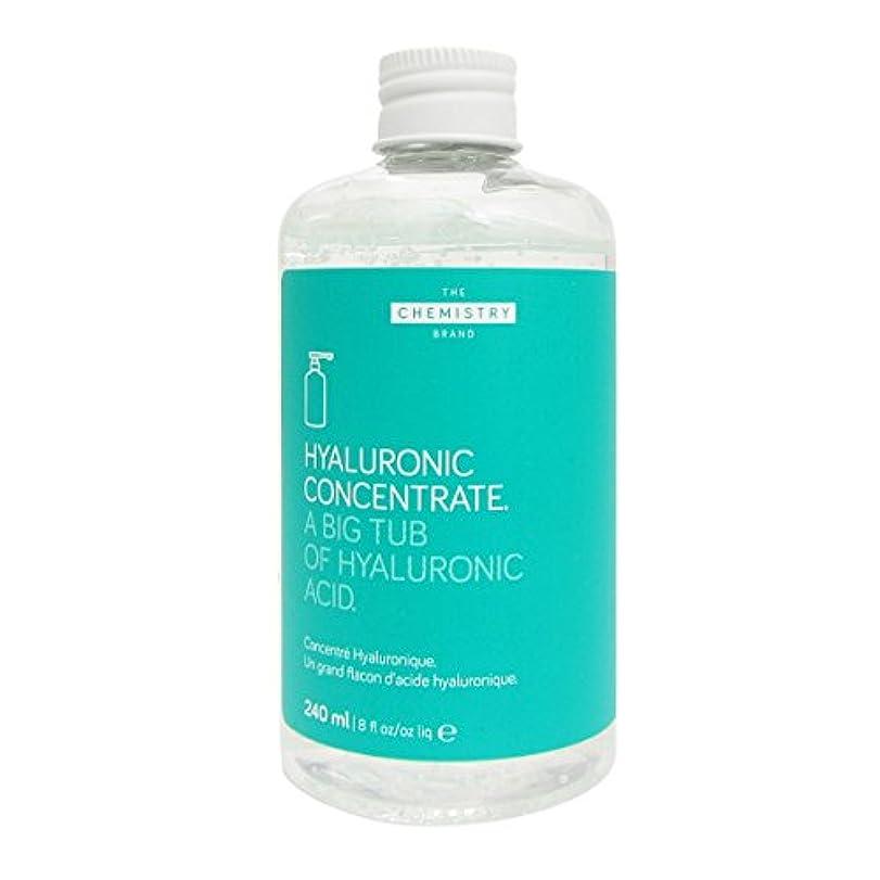 起点口ひげ木製The Chemistry Brand Hyaluronic Concentrate Body And Hands 240ml [並行輸入品]