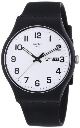 [スウォッチ] 腕時計 NEW GENT(ニュージェント) TWICE AGAIN(トワイス・アゲイン) SUOB705 メンズ 正規輸入品 ブラック