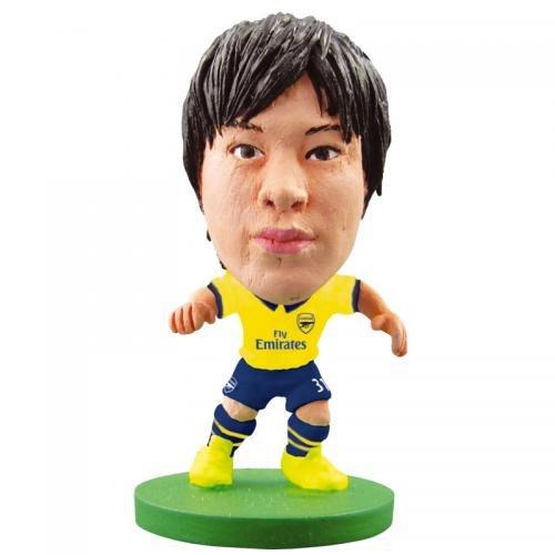 アーセナルFC SoccerStarz宮市亮away- ryo miyaichi- SoccerStarz figure- 2インチtall- with Collectors card- inブリスターpack-公式ライセンス製品