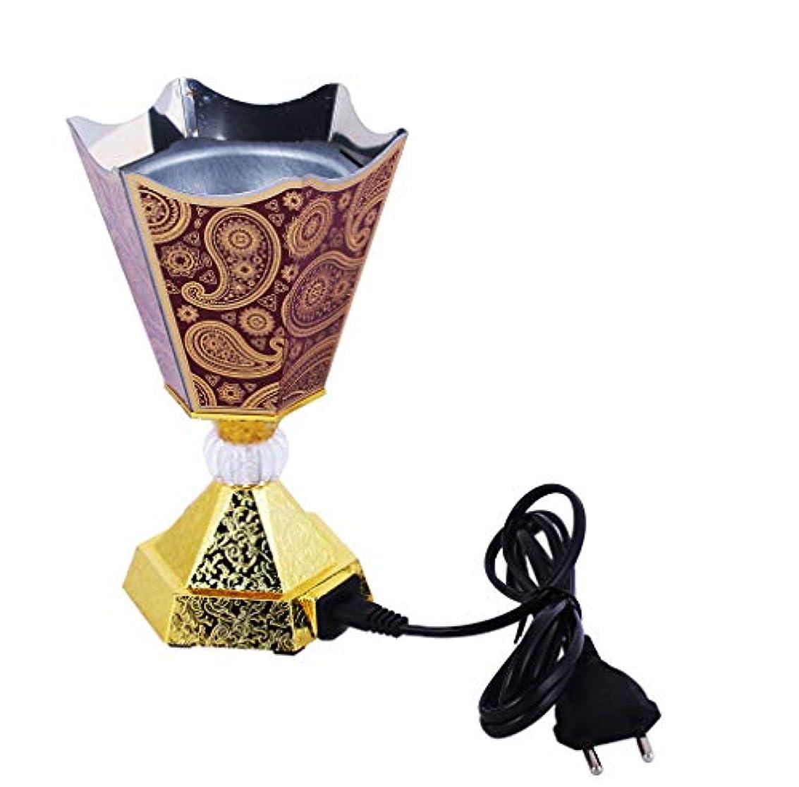 チャーム田舎者特権的Vintage Style Incense Bakhoor/Oud Burner Frankincense Incense Holder Electric, Best for Gifting