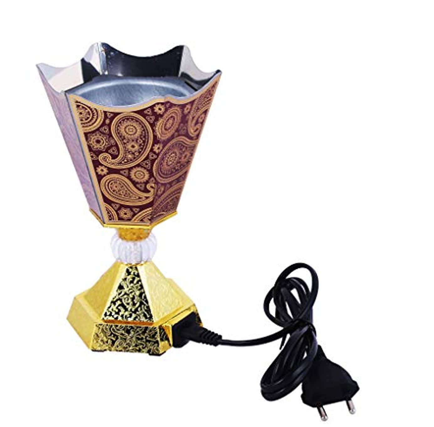 置き場アプト分析するVintage Style Incense Bakhoor/Oud Burner Frankincense Incense Holder Electric, Best for Gifting