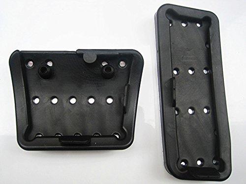 CarAngels JEEP ジープ グランドチェロキー専用 カスタムパーツ ペダルセット 2ピース (アルミ フット ペダル)
