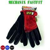 [メカニックスウェア] 手袋 作業用手袋 皮手袋 FASTFIT ファストフィット 東和コーポレーション MFF-02 MFF-03 MFF-05(ブルー L)